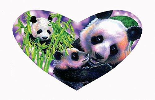 Panda Love a 200-Piece Jigsaw Puzzle by Sunsout Inc