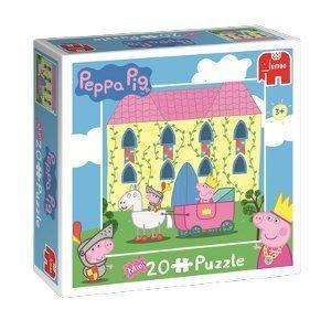 Peppa Pig - Castle - Mini 20 Piece Puzzle by Jumbo