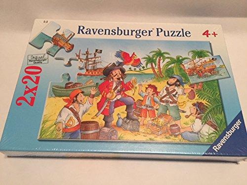 Ravensburger 2 X 20 piece puzzles Pirate Pals 4