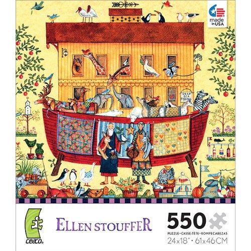 Ellen Stouffer Noahs Ark - 550 Piece Jigsaw Puzzle