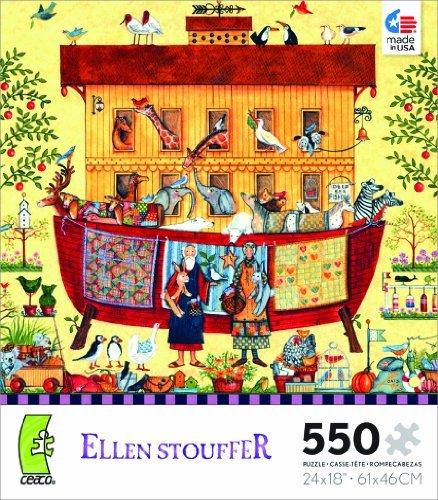 Ellen Stouffer Noahs Ark Jigsaw Puzzle by Ceaco