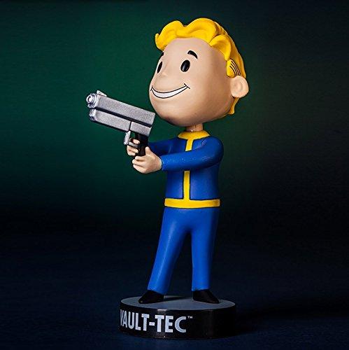Fallout 3 Vault Tec Pip Boy Small Guns Bobblehead Figure Toy - 5