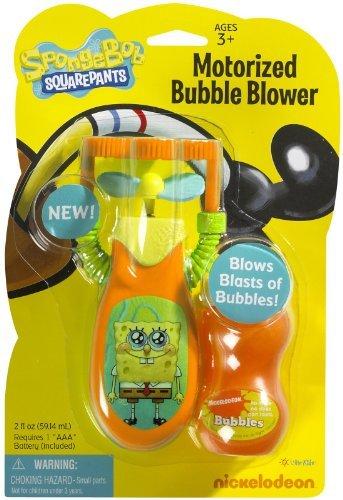 Little Kids Nickelodeon Motorized Bubble Blower - SpongeBob SquarePants by Little Kids