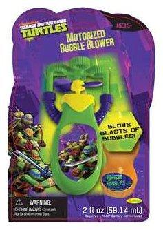 Little Kids Nickelodeon Motorized Bubble Blower - TMNT