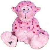 Webkinz Love Monkey Plush Toy with Sealed Adoption Code by Webkinz