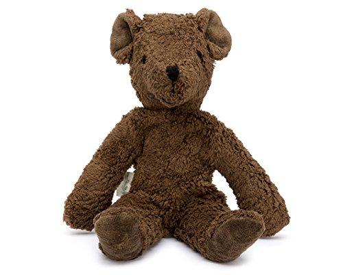 Senger Stuffed Animals - Teddy Bear - Handmade 100 Organic Toy Brown - 12 Inches Tall