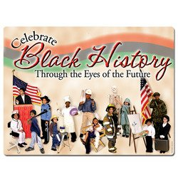 Black History Sign Party Accessory 1 count