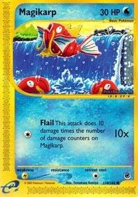 Pokemon - Magikarp 118 - Expedition - Reverse Holofoil