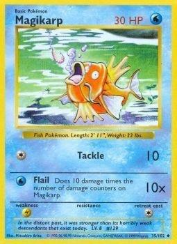 Pokemon - Magikarp 35102 - Base Set
