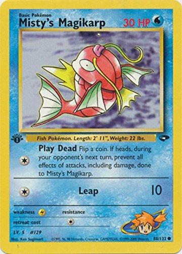 Pokemon - Mistys Magikarp 88 - Gym Challenge - 1st Edition