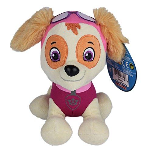 TalentPZ eco-friendly Halloween Christmas Birthday Gift Children Kids PAW Patrol Stuffed Puppet Dolls Plush Toys Pink Height20cm  788£