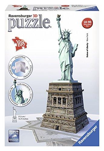 Ravensburger Statue of Liberty - 3D Puzzle 108-Piece