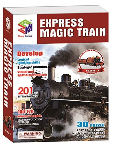 Express Magic Train 3D Puzzle 201 Pieces