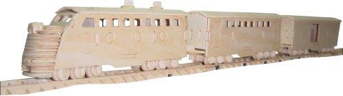 Train 3d Wooden Puzzle