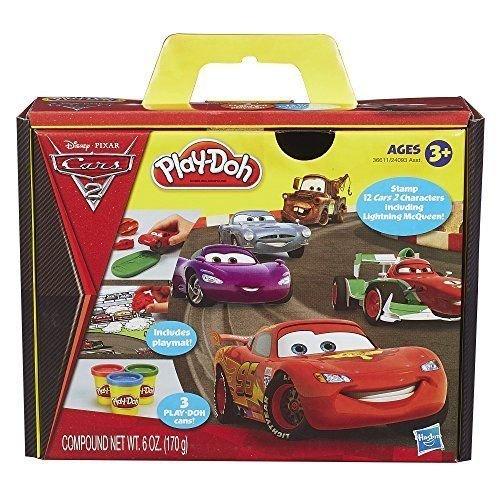 NEW Play-Doh Cars 2 Set