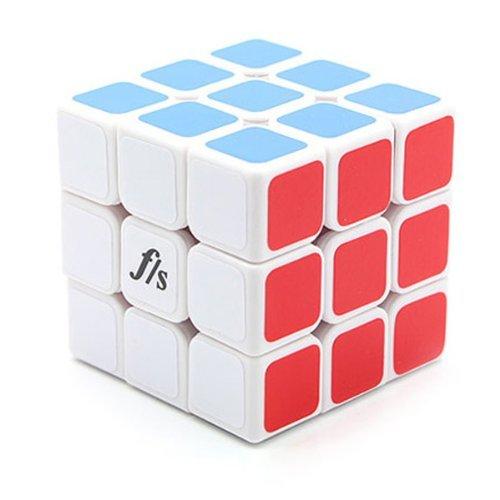FunsFangshi Shuang Ren V2 3x3x3 57mm White Speed Cube Puzzle FUNS 3x3