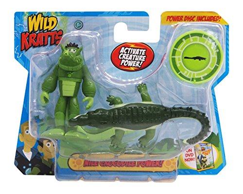 Wild Kratts Toys - 2 Pack Creature Power Action Figure Set - Nile Crocodile Power