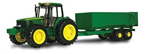 John Deere 6930 Premium BIG FARM Tractor with Wagon by John Deere
