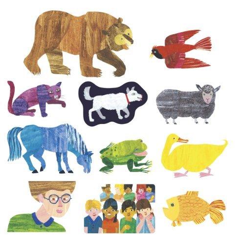 Brown Bear Felt Figures for Flannel Board Stories