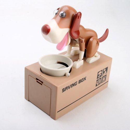 Liberty Imports My Dog Piggy Bank - Robotic Coin Munching Toy Money Box by Liberty Imports