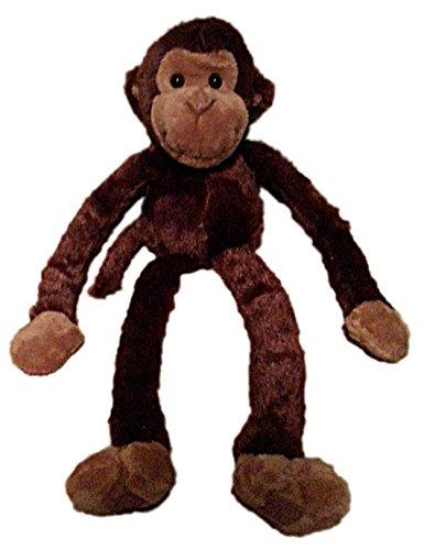 One Large Hanging Velcro Hand Stuffed Animal Plush Monkey by Adventure Planet