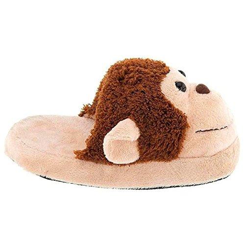 Plush Monkey Slippers by Kreative Kids