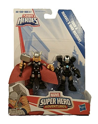 Playskool Heroes Marvel Super Hero Adventures Thor and War Machine