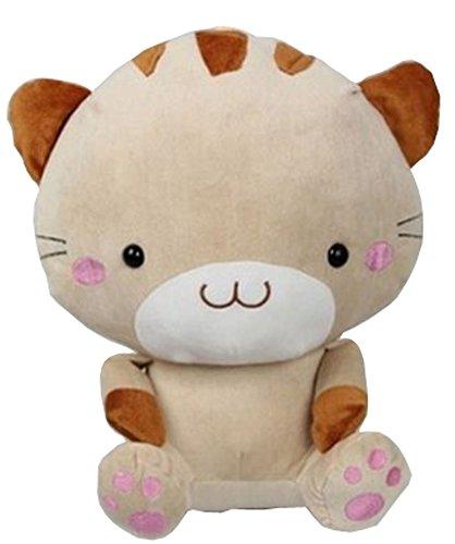 Creative Beige kitten Plush Toys Childrens Birthday Gift 38CM