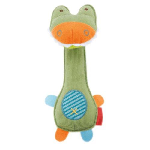 Toddler Shaking Plush Toys Cute Baby Stuffed Animals Infant Toys CRCODILE