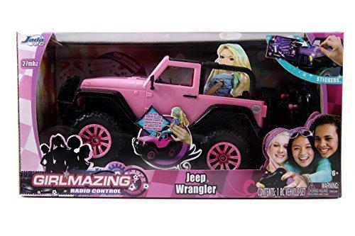 Jada Toys GIRLMAZING Big Foot Jeep RC Vehicle 116 Scale Pink by Jada