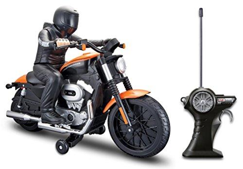 Maisto RC Harley Davidson Xl 1200N Nightster With Rider Radio Control Vehicle