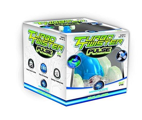 Mindscope Turbo Twister PULSE BLUE Radio Control RC Stunt Action Vehicle 49 MHz