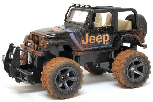 New Bright 115 Jeep Wrangler Mud Slinger Radio Control Vehicle