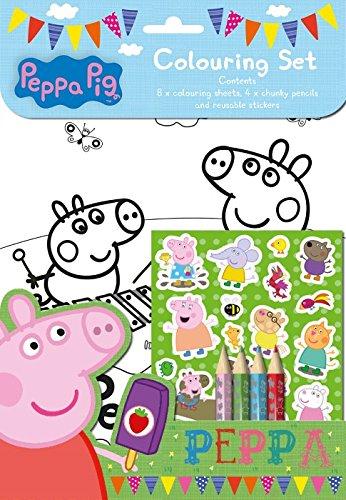 Anker Peppa Pig Colouring Set