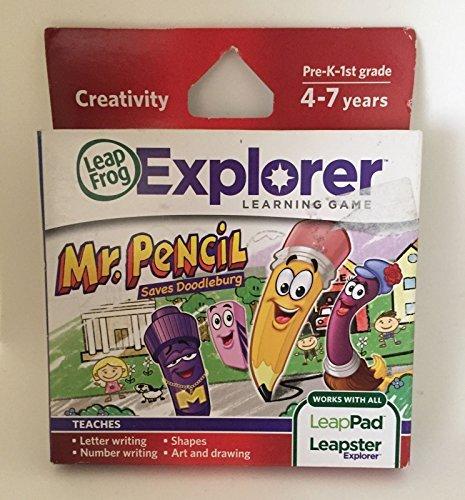 ~~ LeapFrog LeapPad 2 Explorer Learning Game Mr Pencil Ages 4-7 NEW Writing Art