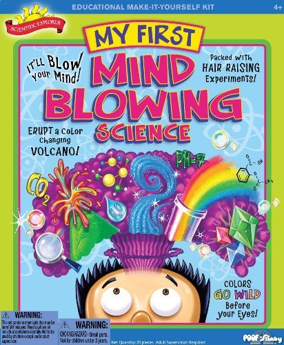 My First Mind Blowing Science Kit - Includes Bonus Velvet Bag