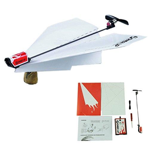 BinmerTMPower up Electric Paper Plane Airplane Conversion Kit Fashion Educational Toys