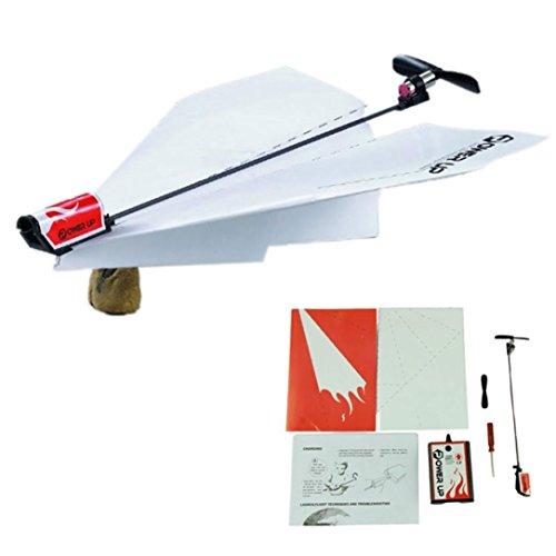 LandFox ToyElectric Paper Plane Airplane Educational Toys