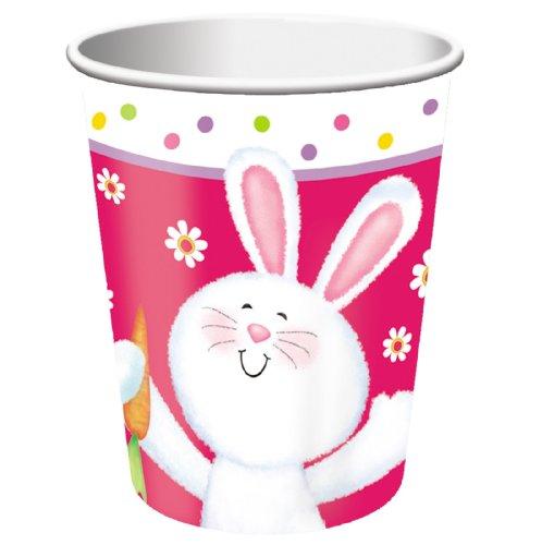 Hippity Hop 9 oz Paper Cups Party Accessory
