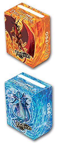 Ultra-Pro Kaijudo Card Deck Box Set ft King Tritonus and Infernus 2 Boxes