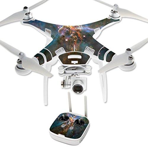 MightySkins Protective Vinyl Skin Decal for DJI Phantom 3 Professional Quadcopter Drone wrap cover sticker skins Eagle Nebula