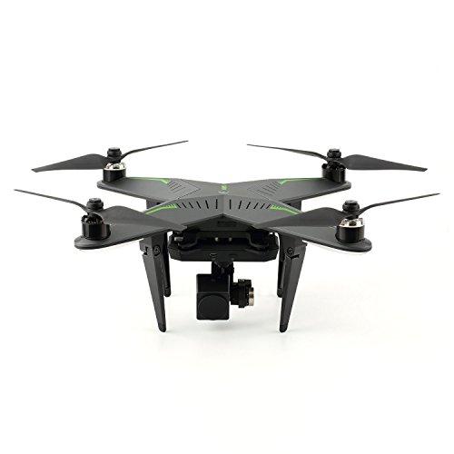 XIRO Xplorer Professional Quadcopter V Version Drone with Remote Transmitter UZ350V Gimbal and 1080P 30FPS HD Video Camera