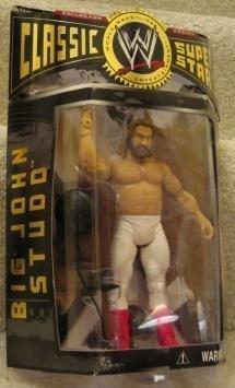 2004 WWE WWF Jakks Pacific Wrestling Classic Superstars Action Figure BIG JOHN STUDD by JIREH PUBLISHING parallel import goods