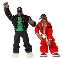 Mezco Toyz Rap Stars Action Figure Public Enemys Flava Flav Toy by Mezco