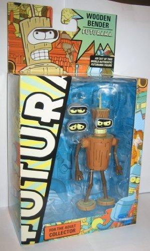 Futurama Toynami Series 9 Action Figure Wooden Bender