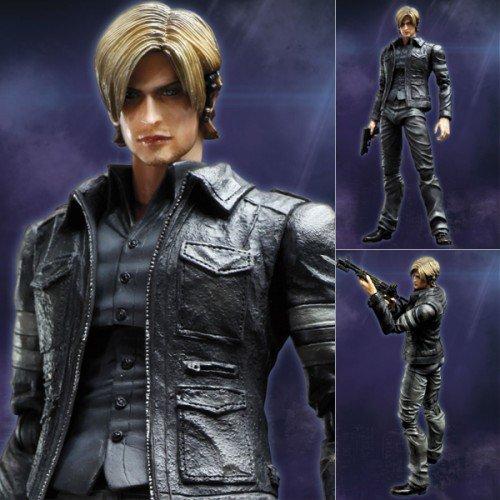 Resident Evil Play Arts Kai Leon Kennedy 9 Action Figure