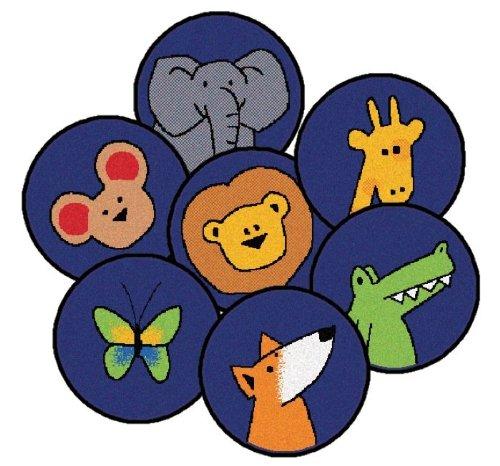 Carpets for Kids 7026 Learning Blocks Kit - Primary Rug