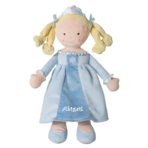 Personalized Snowflake Princess Doll - 14 Inch - Blonde