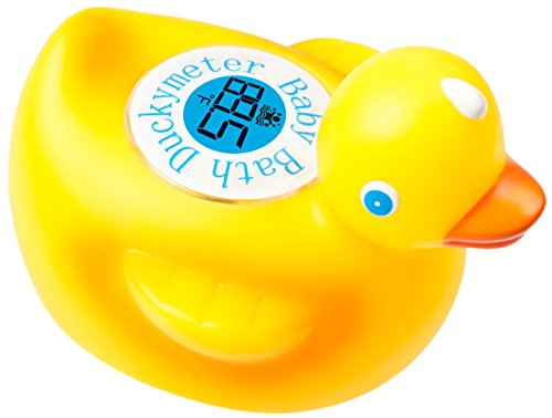 Duckymeter the Baby Bath Floating Duck Toy and Bath Tub Thermometer