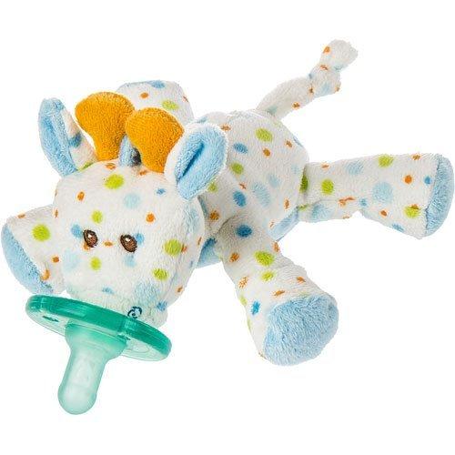 Mary Meyer 15 cm Wubbanub Little Stretch Giraffe Soother Toy by Mary Meyer